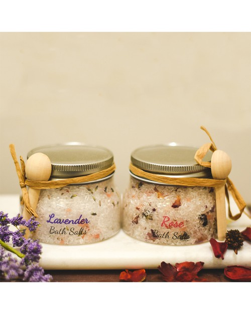 SPA SALTS made with Essential Oils - orangeshine.com