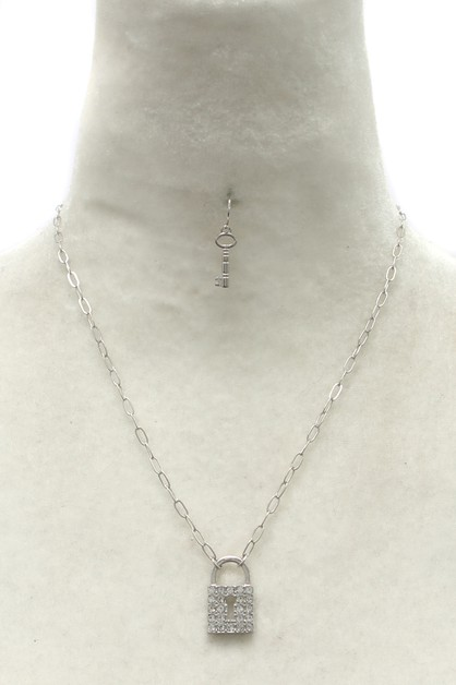 METAL CHAIN  NECKLACE  SET - orangeshine.com