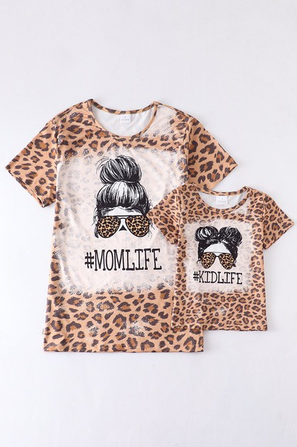 Leopard kidlife momlife mommy and me - orangeshine.com
