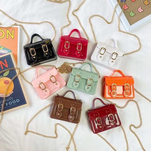 Kids jelly satchel bags - orangeshine.com