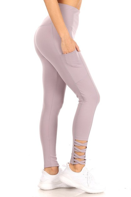 Cross Sports Leggings Yoga Pockets - orangeshine.com