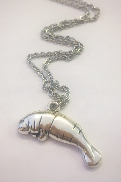 Manatee necklace - orangeshine.com