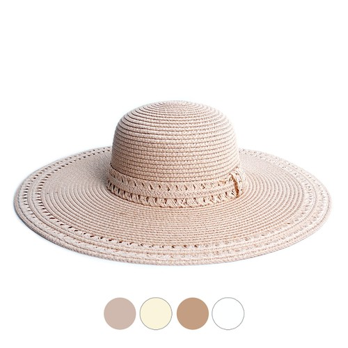 Spring Womens Wide Brim Floppy Hat - orangeshine.com