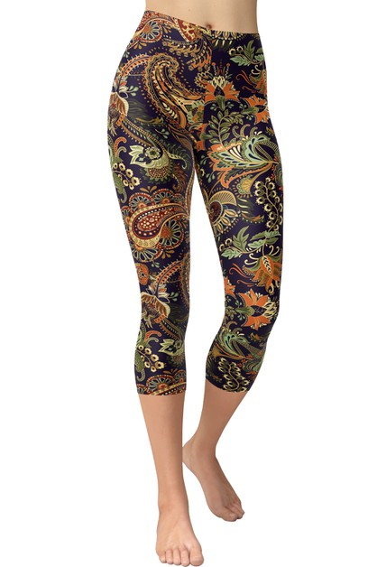 Capri Leggings - orangeshine.com