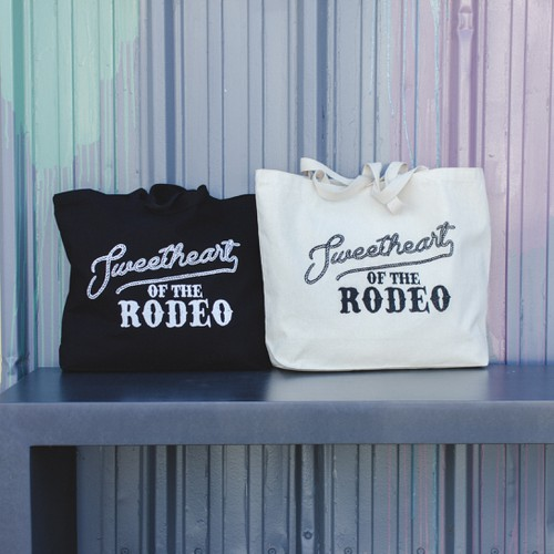 Rodeo Large Tote Bag - orangeshine.com