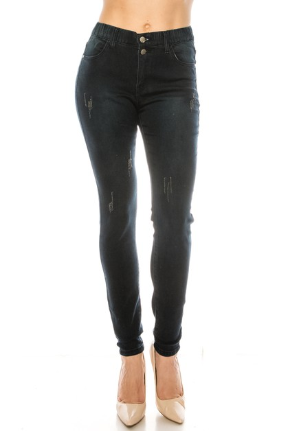 Fashion pull on jegging - orangeshine.com