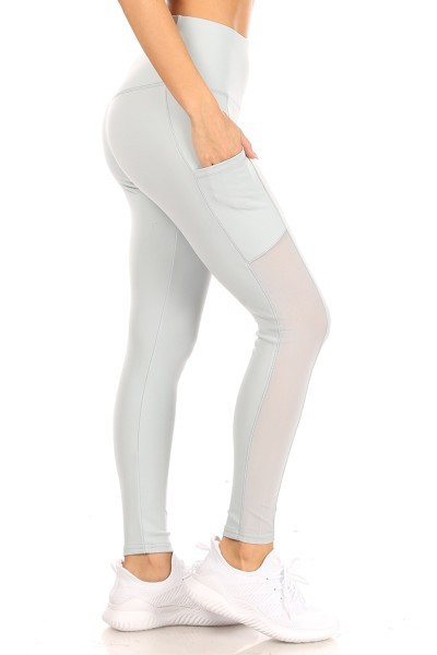 Sculpting Sports Mesh leggings Yoga - orangeshine.com
