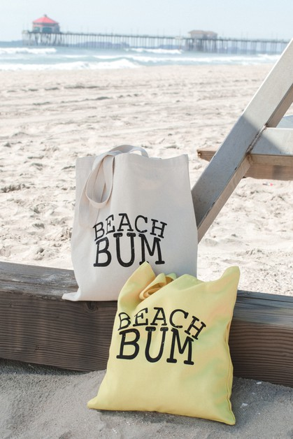 Beach Bum Tote Bag - orangeshine.com