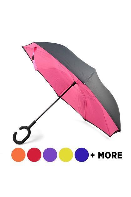 Solid Color Double Layer Umbrella - orangeshine.com