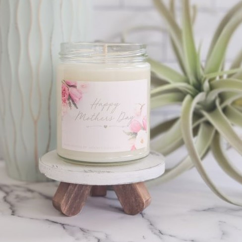 Happy Mothers Day Soy Wax Candle - orangeshine.com