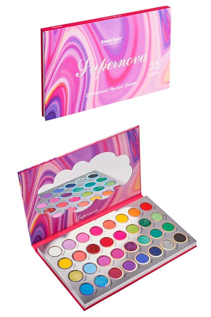 32-Color Eyeshadow Palette - orangeshine.com