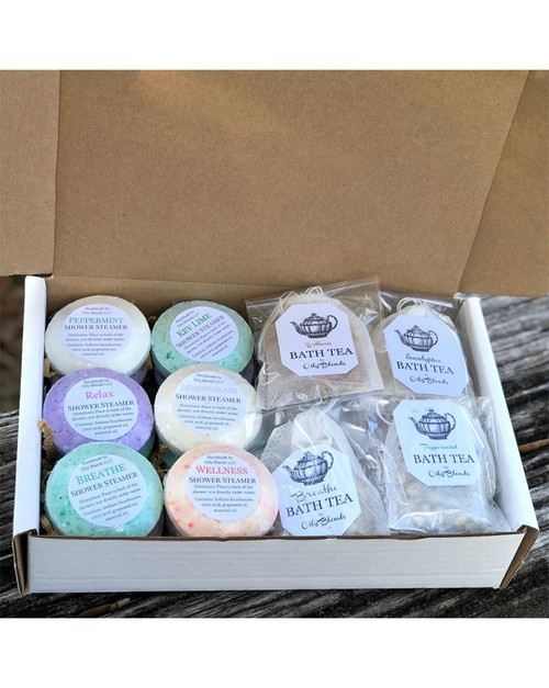 Shower Steamer Bath Tea Assortment - orangeshine.com