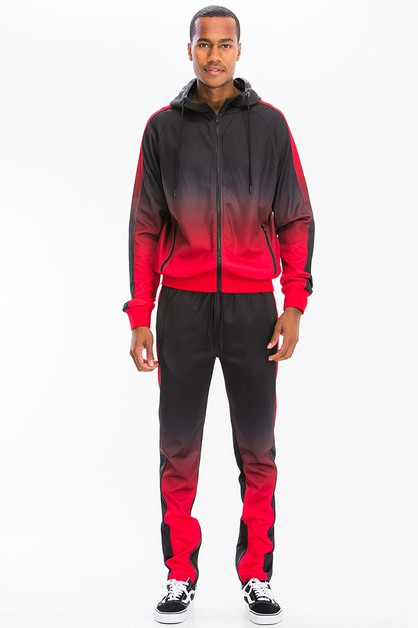 Ombre Full Zip Track Set - orangeshine.com