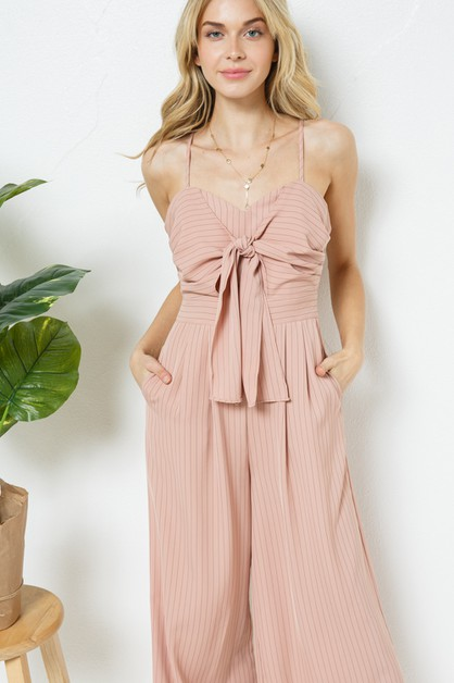 Sleeveless Jumpsuit - orangeshine.com