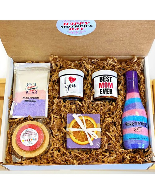 Style D Mothers Day Gift Box - orangeshine.com
