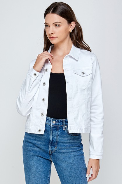 Denim Jean Jacket - orangeshine.com
