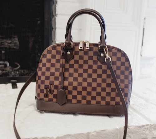 Checkered handbags - orangeshine.com