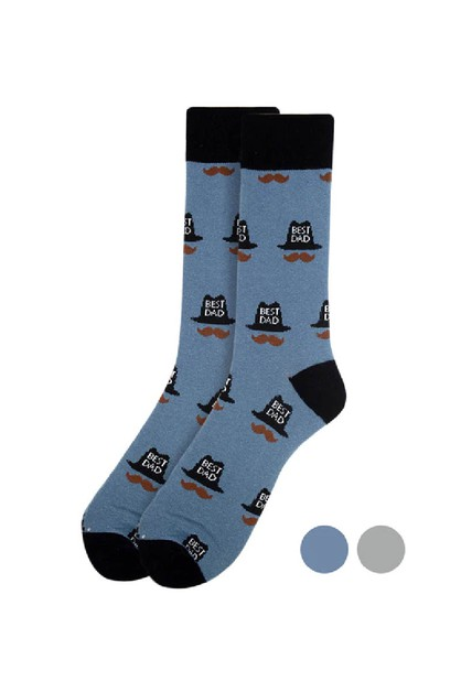 Mens Best Dad Novelty Socks - orangeshine.com