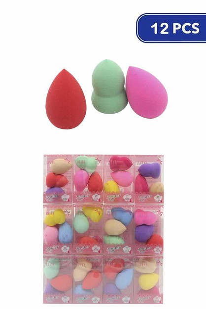 FASHION MAKEUP SPONGE 3 PCS SET PREP - orangeshine.com