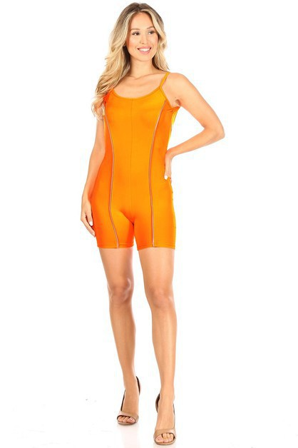Reflective Strips Jumpsuit - orangeshine.com