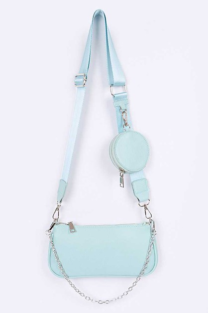 Coin Pocket Iconic Crossbody Bag - orangeshine.com