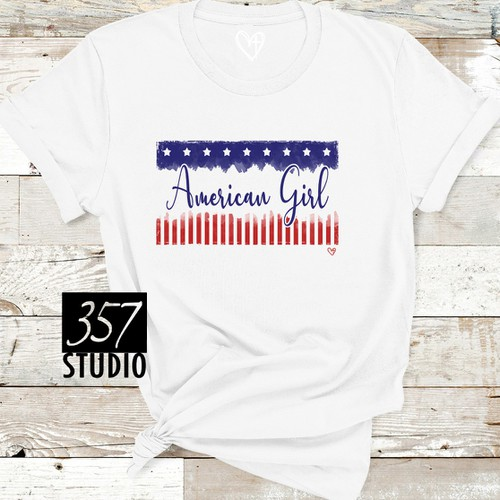 Stars and Stripes American Girl - orangeshine.com