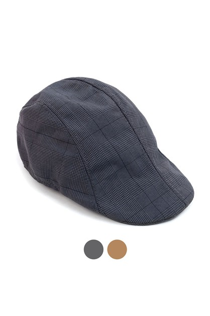 Spring Plaid Ivy Hat - orangeshine.com