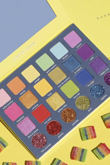 ACROSS THE RAINBOW SHADOW PALETTE - orangeshine.com