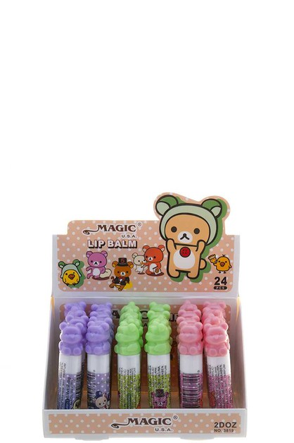 MAGIC USA LIP BALM 24 UNITS - orangeshine.com