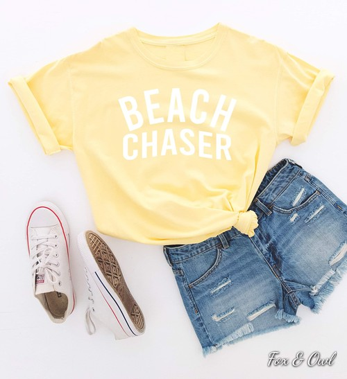 Beach chaser Comfort Colors - orangeshine.com