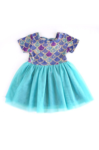 Mermaid tutu dress - orangeshine.com