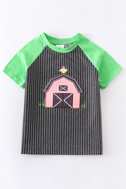 Farm applique unisex shirt - orangeshine.com
