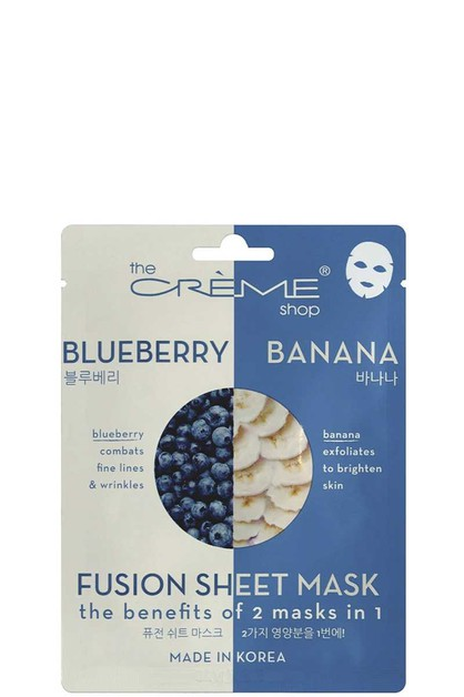 BLUEBERRY AND  BANANA SHEET MASK - orangeshine.com