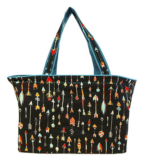 Arrow Print Beach Tote Bag 18 inch - orangeshine.com