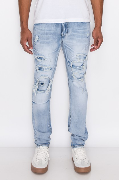 MEN RIP AND PEPAIR DENIM JE - orangeshine.com