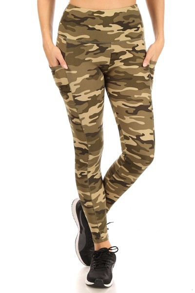 Army Active Sports Leggings Yoga - orangeshine.com