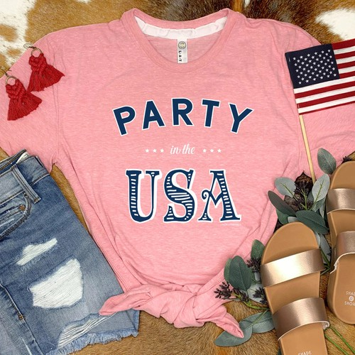 PARTY IN THE USA - Graphic Tees - orangeshine.com