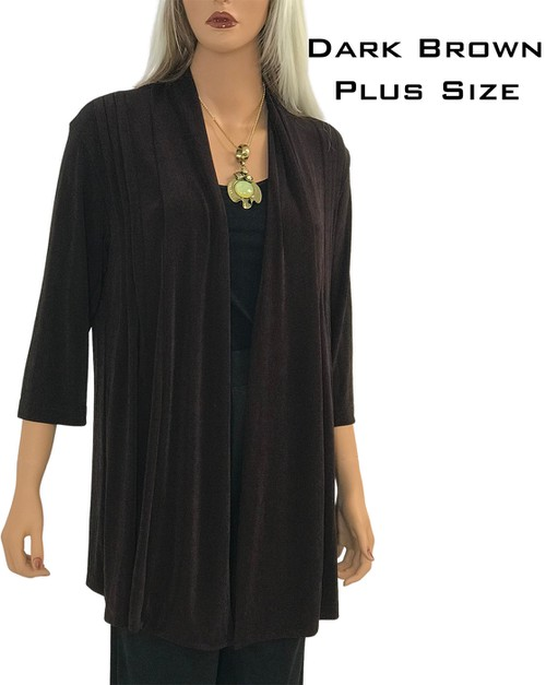 Plus SIze TravelWear Cardigan - orangeshine.com