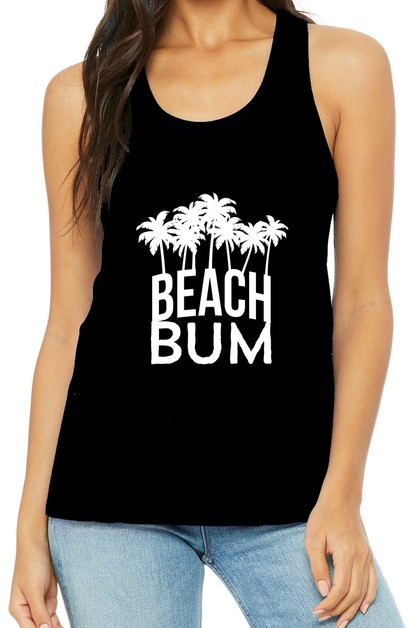 BEACH BUM MUSCLE TANK - orangeshine.com