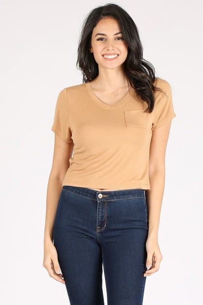 Fashion crop top - orangeshine.com