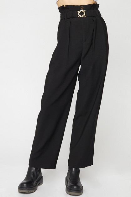PAPER BAG WAIST TROUSER - orangeshine.com