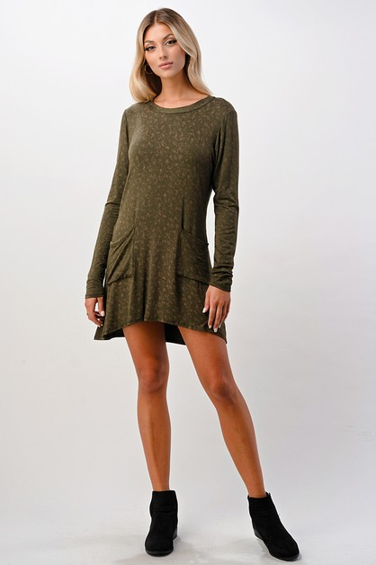 Basic Pocket Dress - orangeshine.com