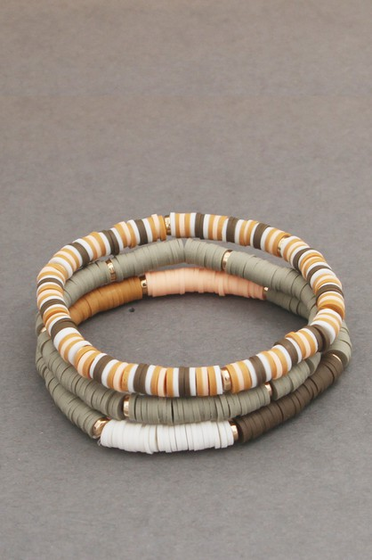 3 LINE STRETCH BRACELET - orangeshine.com