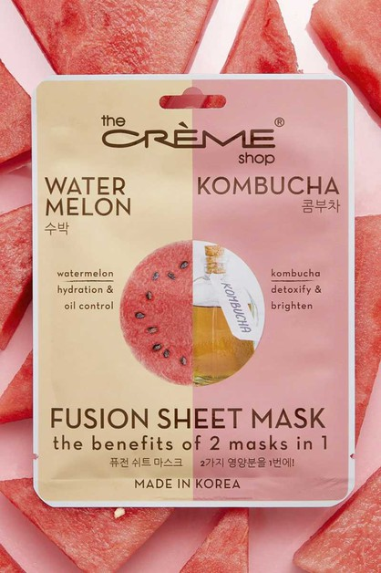 WATERMELON KOMBUCHA FACE MASK - orangeshine.com