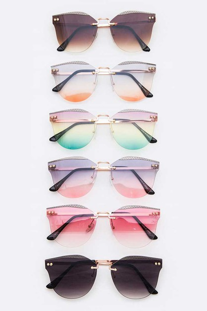 Cat Eye Iconic Sunglasses Set - orangeshine.com