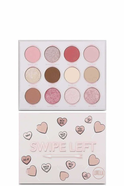 SWIPE LEFT EYESHADOW PALETTE - orangeshine.com