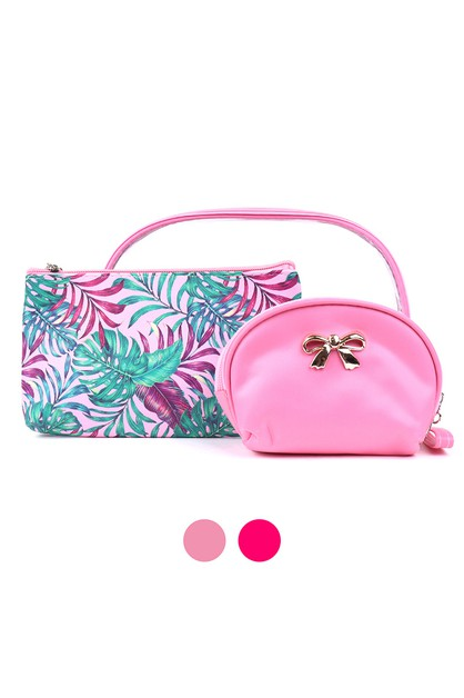 Ladies Makeup Bag 3pc Set - orangeshine.com