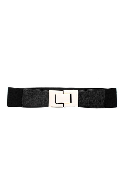 ELASTIC METAL BOXED DESIGN CLIP BELT - orangeshine.com