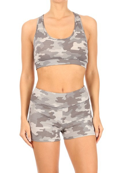 Army Camo Activewear Sets Yoga - orangeshine.com