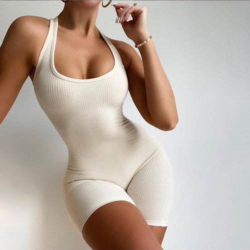 Sexy Sleeveless Fashion Romper - orangeshine.com